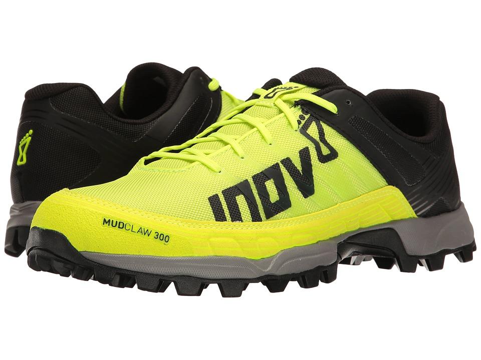 inov-8 - Mudclaw 300 (Neon Yellow/Black/Grey) Athletic Shoes