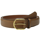 LAUREN Ralph Lauren 1 1/4 Winston Endbar Dress Buckle on Smooth Leather Strap