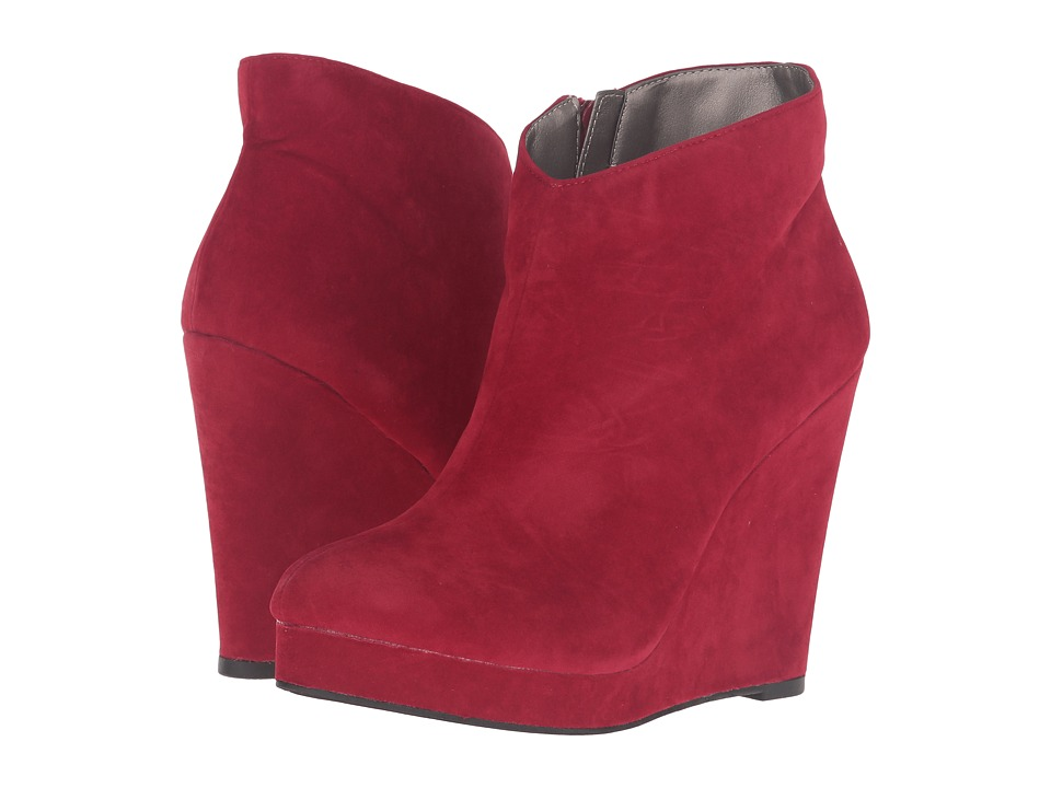 Michael Antonio - Cerras - Suede - Velvet (Red) Women
