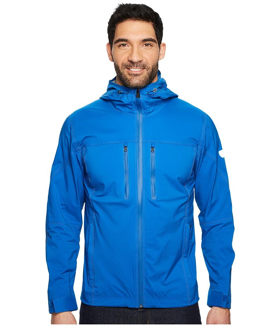 KUHL Airstorm Rain Jacket (Lake Blue) Men