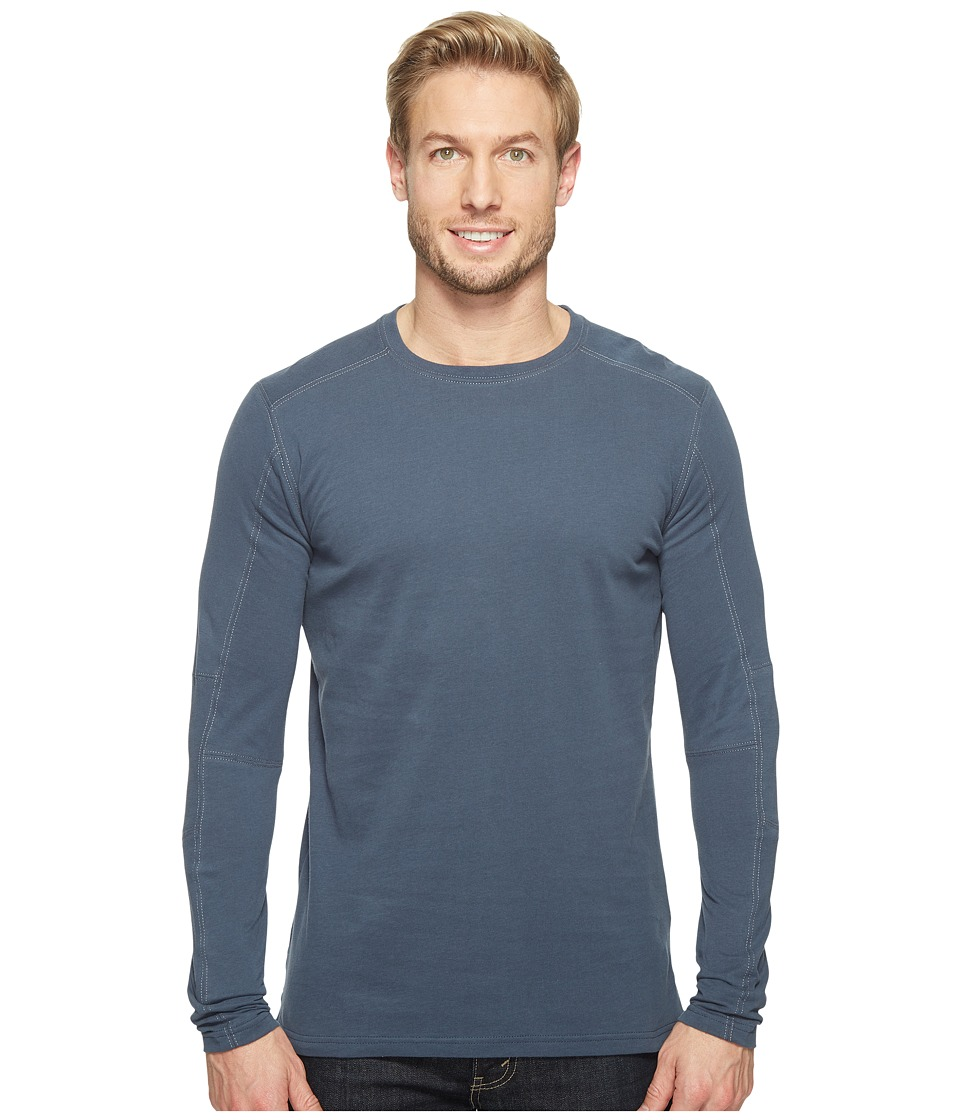 KUHL - Bravado Long Sleeve (Pirate Blue) Mens Clothing