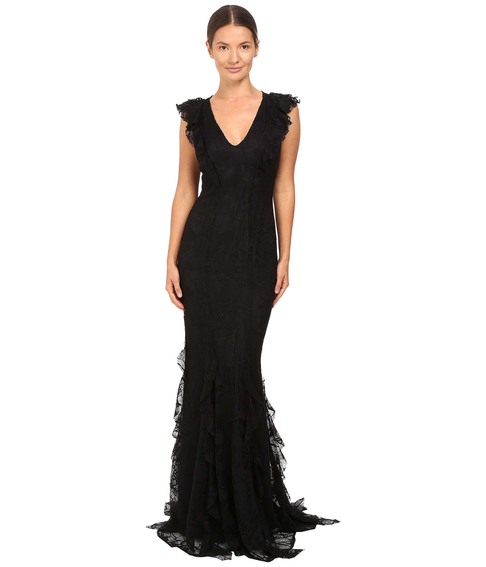 Zac zac posen josephine gown free shipping for Zac posen wedding dresses sale