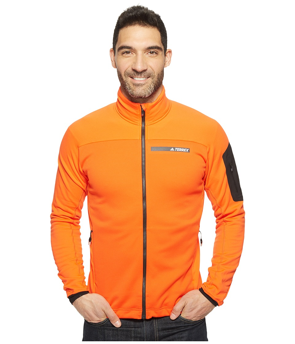 adidas Outdoor Terrex Stockhorn Fleece Jacket (Energy) Men