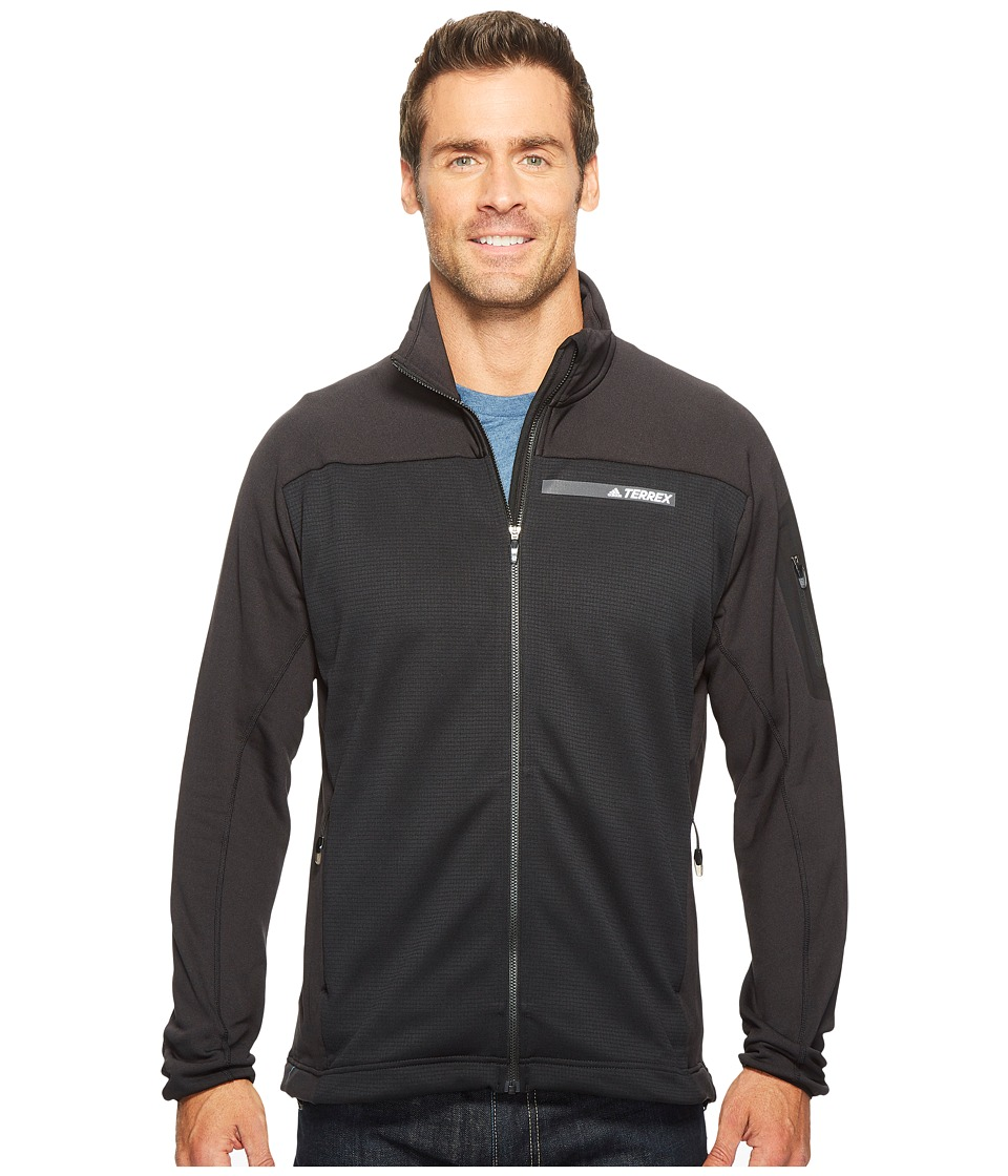 adidas Outdoor Terrex Stockhorn Fleece Jacket (Black/Black) Men