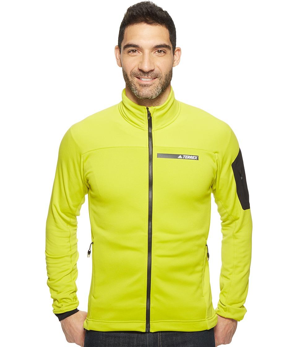 adidas Outdoor Terrex Stockhorn Fleece Jacket (Unity Lime) Men