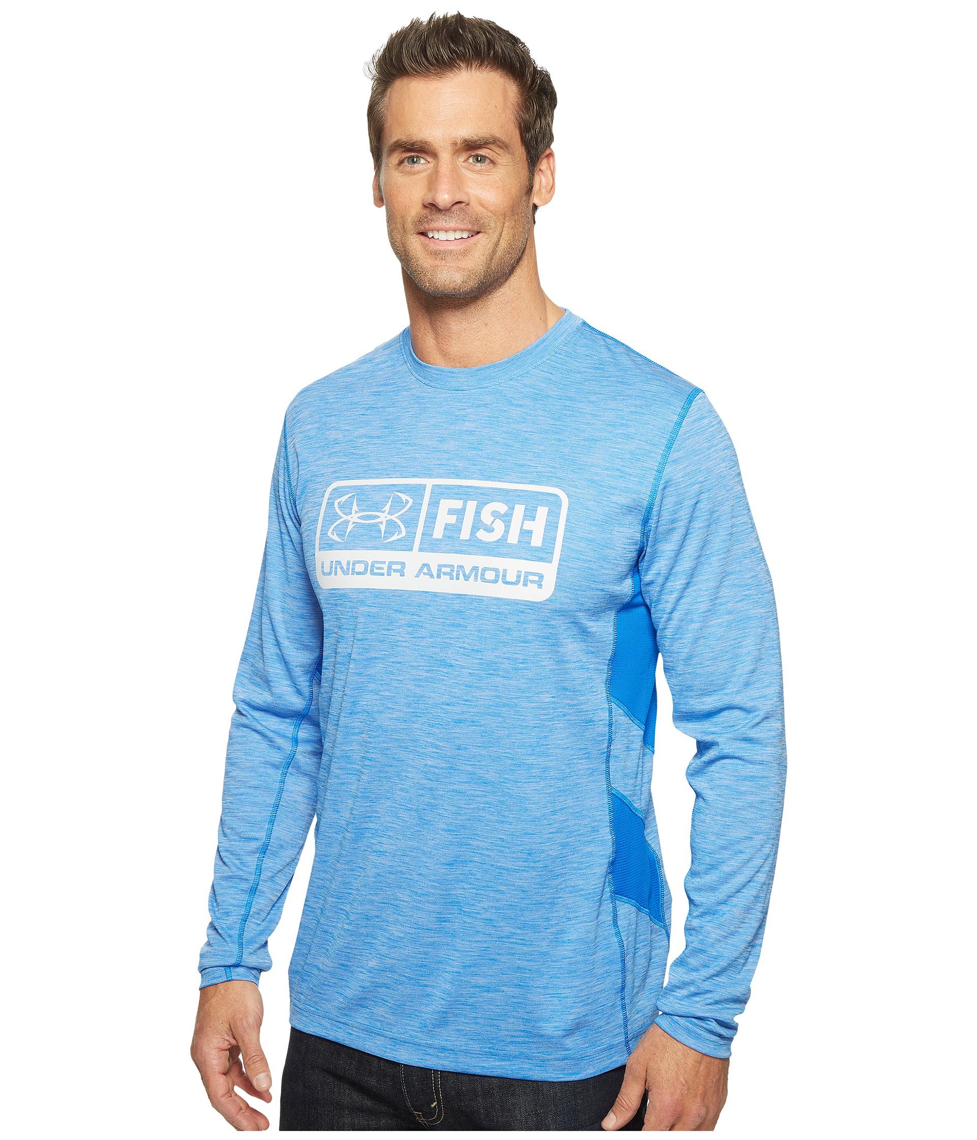 Under armour ua fish hunter tech long sleeve shirt at for Under armour fish hunter shirt
