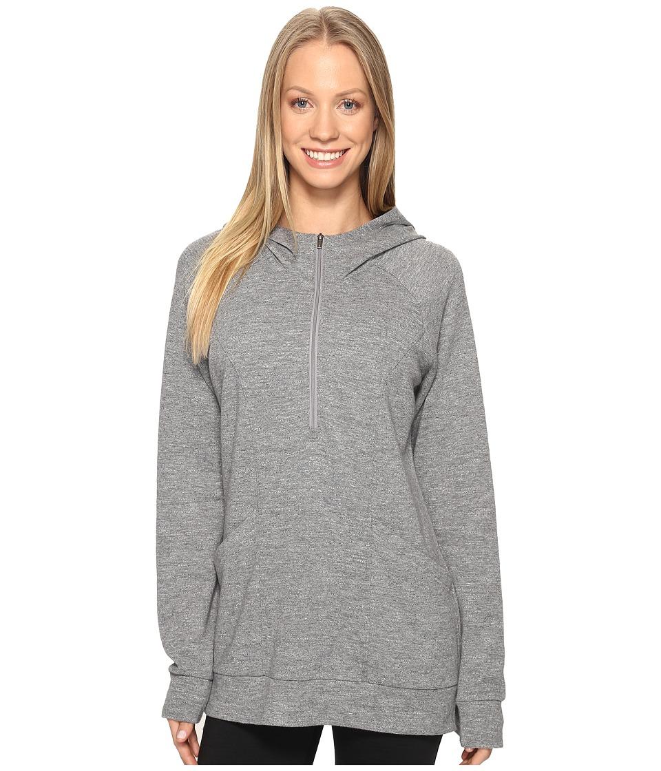 Lucy OM 1/2 Zip Pullover (Silver Filigree Heather) Women