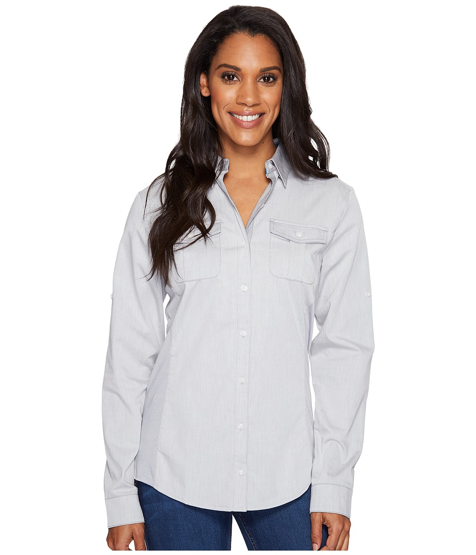 KUHL Kiley Long Sleeve Shirt (Ash) Women