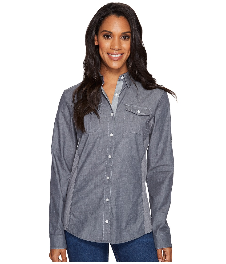 KUHL Kiley Long Sleeve Shirt (Charcoal) Women