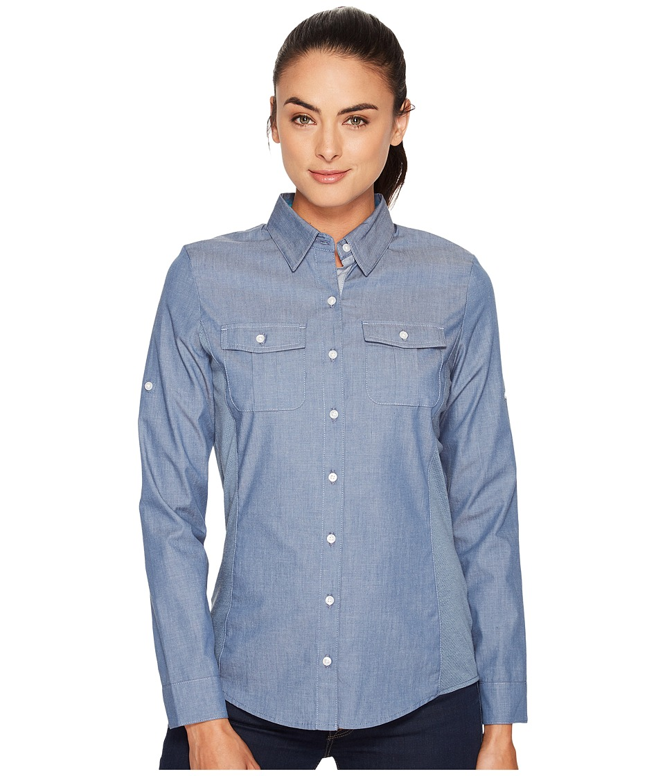KUHL Kiley Long Sleeve Shirt (Denim Blue) Women