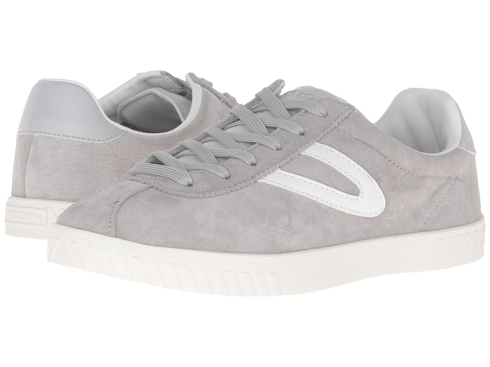 Tretorn Camden 3 (Light Grey/Light Grey/White) Women