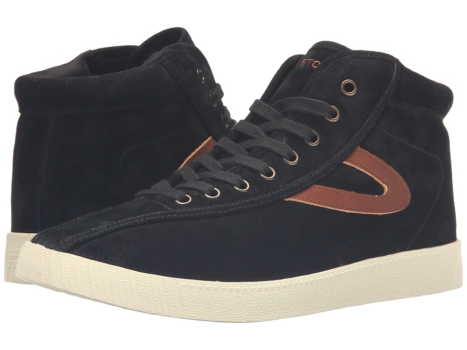 Tretorn - Nylite HI7 (Black/Black/Saddle) Men
