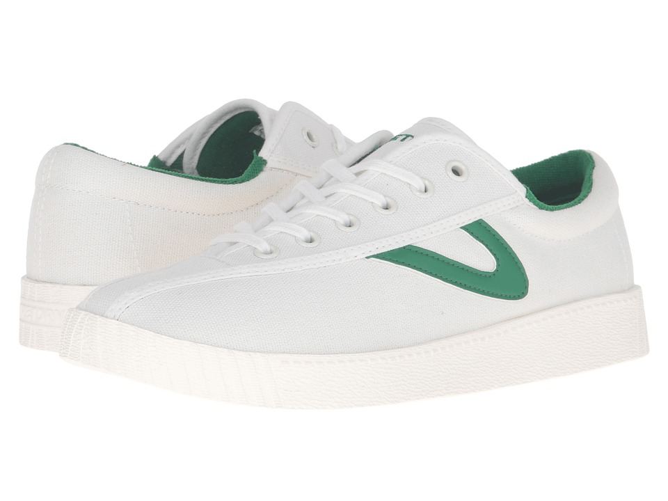 Tretorn Nylite Plus (White/White/Green) Women