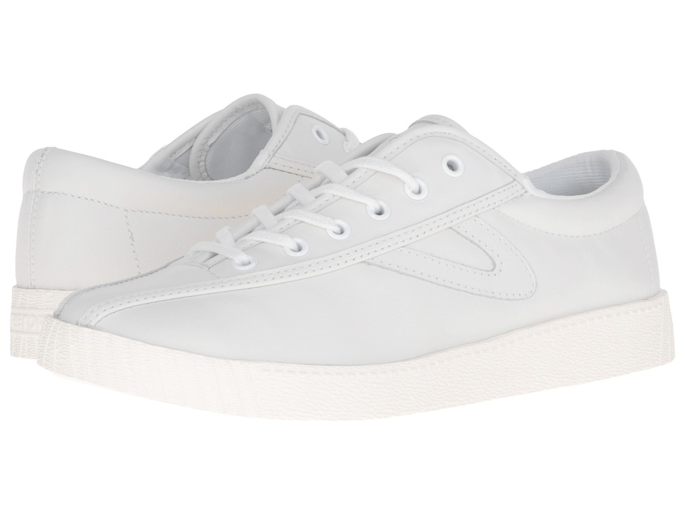 Tretorn - Nylite 2 Plus (White/White/White) Womens Lace up casual Shoes