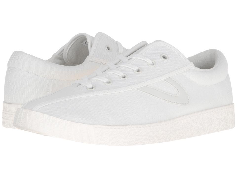 Tretorn Nylite Plus (White/White/White) Men's Lace up cas...