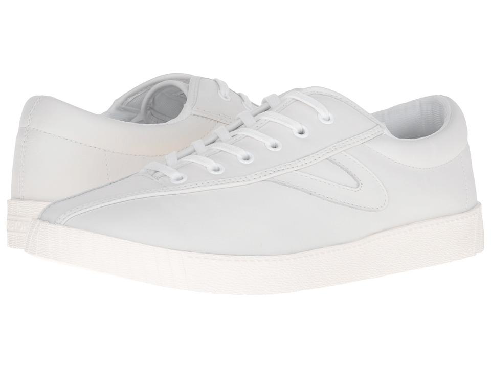 Tretorn Nylite 2 Plus (White/White/White) Men's Lace up c...