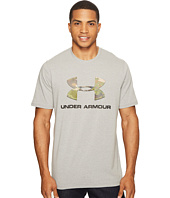 Under Armour - UA Camo Fill Logo Charged Cotton Tee