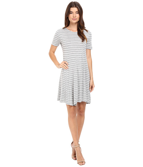 Culture Phit Elenor Striped Short Sleeve Dress