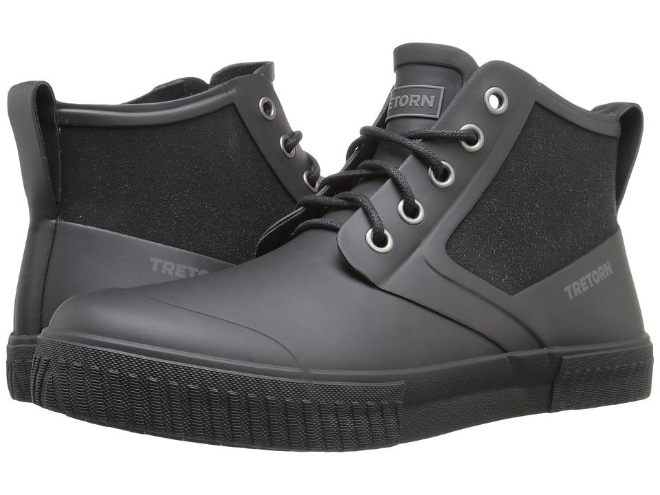 Tretorn Gill (Black/Black) Men's Lace up casual Shoes
