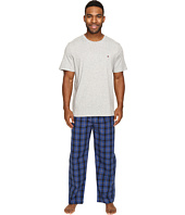 Tommy Hilfiger - Poplin Pants & Crew Neck T-Shirt Set