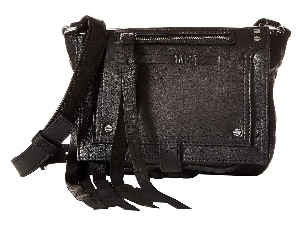 McQ - Mini Crossbody (Black) Cross Body Handbags