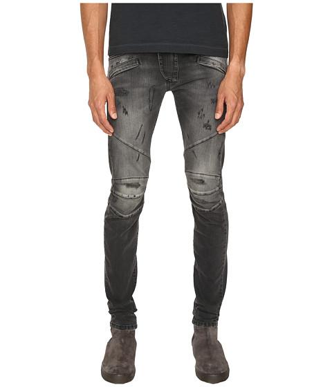 Pierre Balmain Classic Distressed Biker Jeans