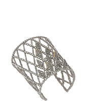 Alexis Bittar - Crystal Encrusted Spiked Lattice Cuff Bracelet
