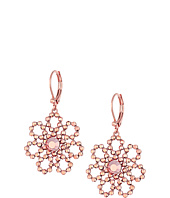 Kate Spade New York - Crystal Lace Leverback Drop Earrings