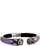 Alexis Bittar - Crystal Encrusted Mosaic Lace Brake Hinge w/ Fancy Cut Shields Bracelet