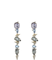 Alexis Bittar - Crystal Encrusted Mosaic Lace Dangling Post w/ Fancy Cut Stones Earrings