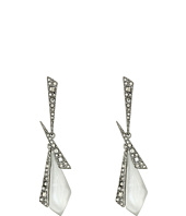 Alexis Bittar - Crystal Encrusted Dangling Origami Post Earrings