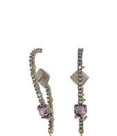 Alexis Bittar - Crystal Lace Ear Hook w/ Removable Jacket and Rose Cut Stone Earrings