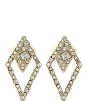 Alexis Bittar - Crystal Encrusted Spiked Lattice Post Earrings