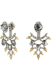Alexis Bittar - Crystal Lace Ear Jacket w/ Custom Cut Stones Earrings
