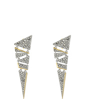 Alexis Bittar - Crystal Encrusted Mosaic Lace Dangling Post Earrings