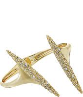 Alexis Bittar - Crystal Encrusted Modernist Spear Hinge Bracelet