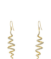 Alexis Bittar - Crystal Encrusted Coil Wire Earrings