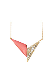 Alexis Bittar - Crystal Encrusted Origami Pendant Necklace