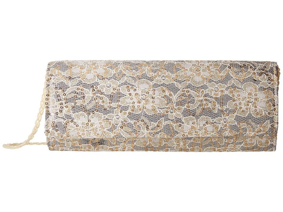 Nina - Abba (Champagne/Gold) Handbags