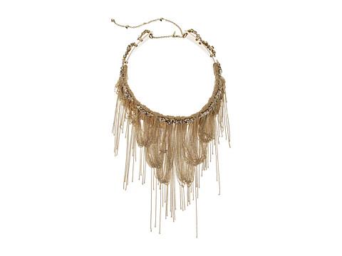 Alexis Bittar Vintage Fringe Collar w/ Custom Cut Stones Necklace