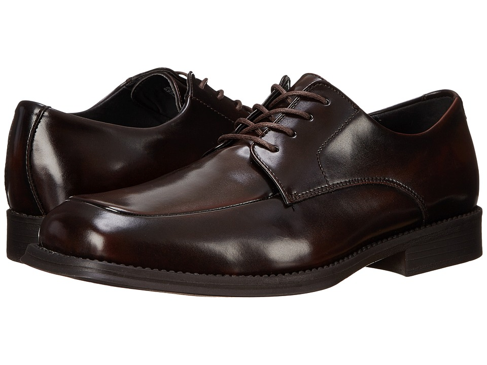 Kenneth Cole Reaction - Sim-Plicity (Brown) Mens Lace Up Moc Toe Shoes