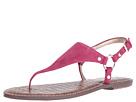 Sam Edelman - Greta (Pink Garnet Kid Suede Leather)