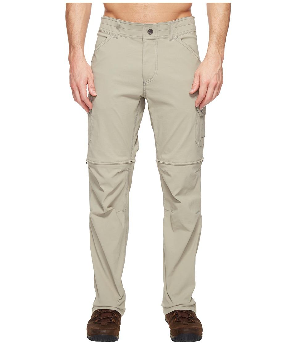 KUHL Renegade Cargo Convertible Pants (Brushed Nickel) Men