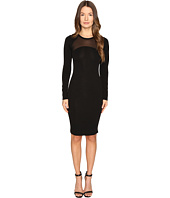 Versace Collection - Knit Dress with Sheer Band