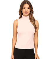 Theory - Wendel Ribbed Viscose Sleeveless Turtleneck Top