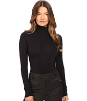 Theory - Tace Tubular Long Sleeve Bodysuit