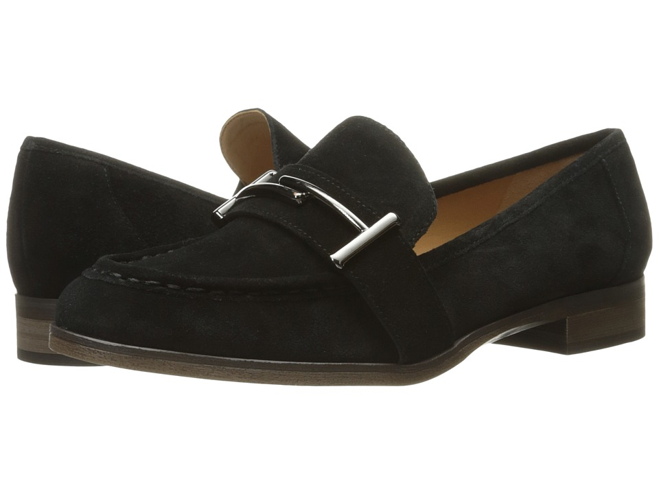 Franco Sarto Baylor (Black Velour Suede) Women
