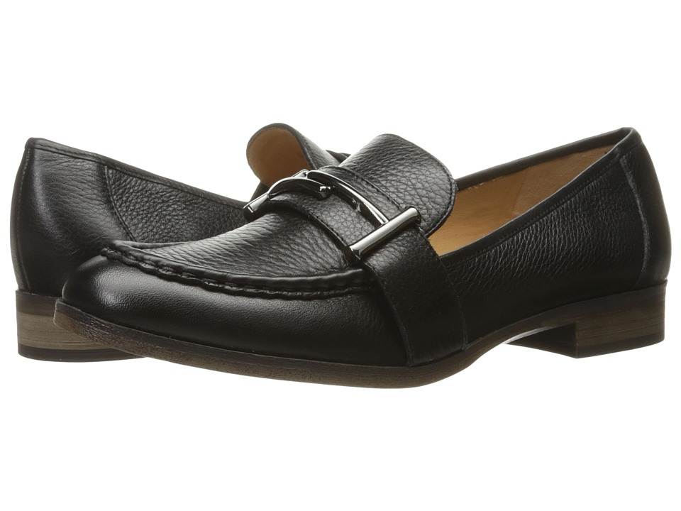 Franco Sarto Baylor (Black Leather) Women