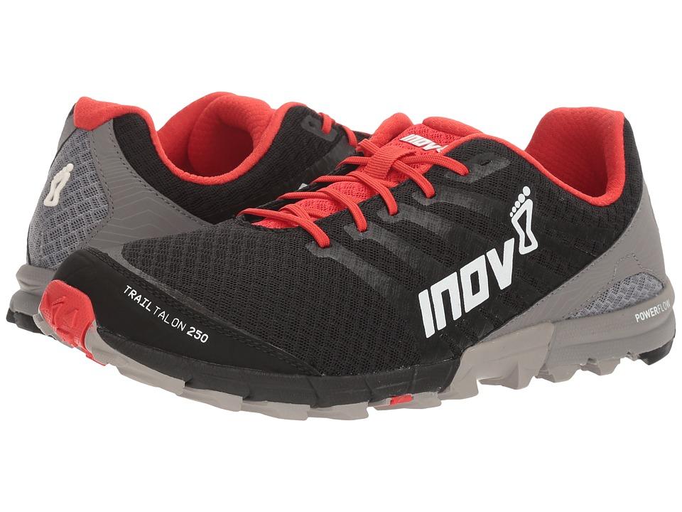 inov-8 - TrailTalon 250 (Black/Red/Grey) Mens Running Shoes