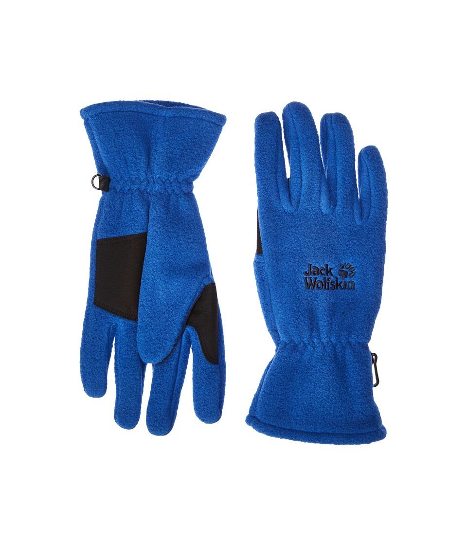 Jack Wolfskin Artist Glove (Deep Sea Blue) Extreme Cold Weather Gloves